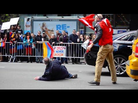 ABD'de Türk Bayrağı'nı Ermeniler'den Kurtaran Azeri Yiğit