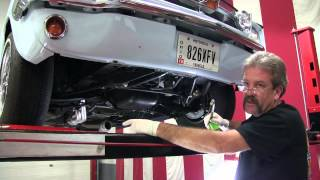 flaming river rack and pinion installation in 1965 70 mustang