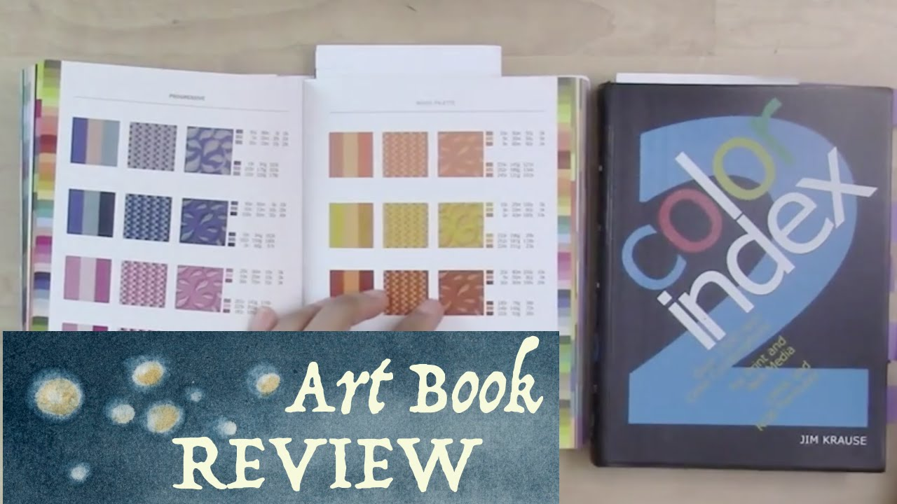 Art Book Review: Color Index 1 & 2 by Jim Krause - YouTube