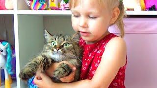 Сюрпризы с КОТЯТАМИ новые игрушки киндер Surprises with KITTENS new toys kinder