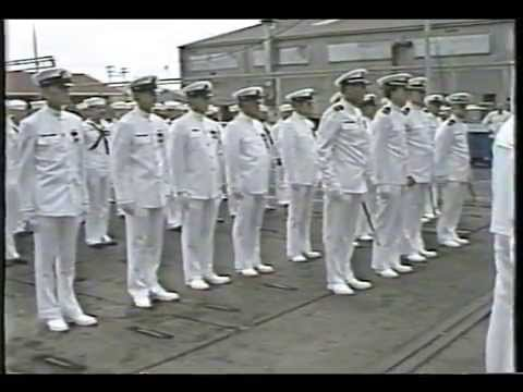 USS Grayback Decom