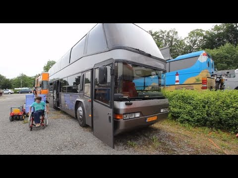 Double Decker Rv Meeting Schiedersee 2017 Youtube