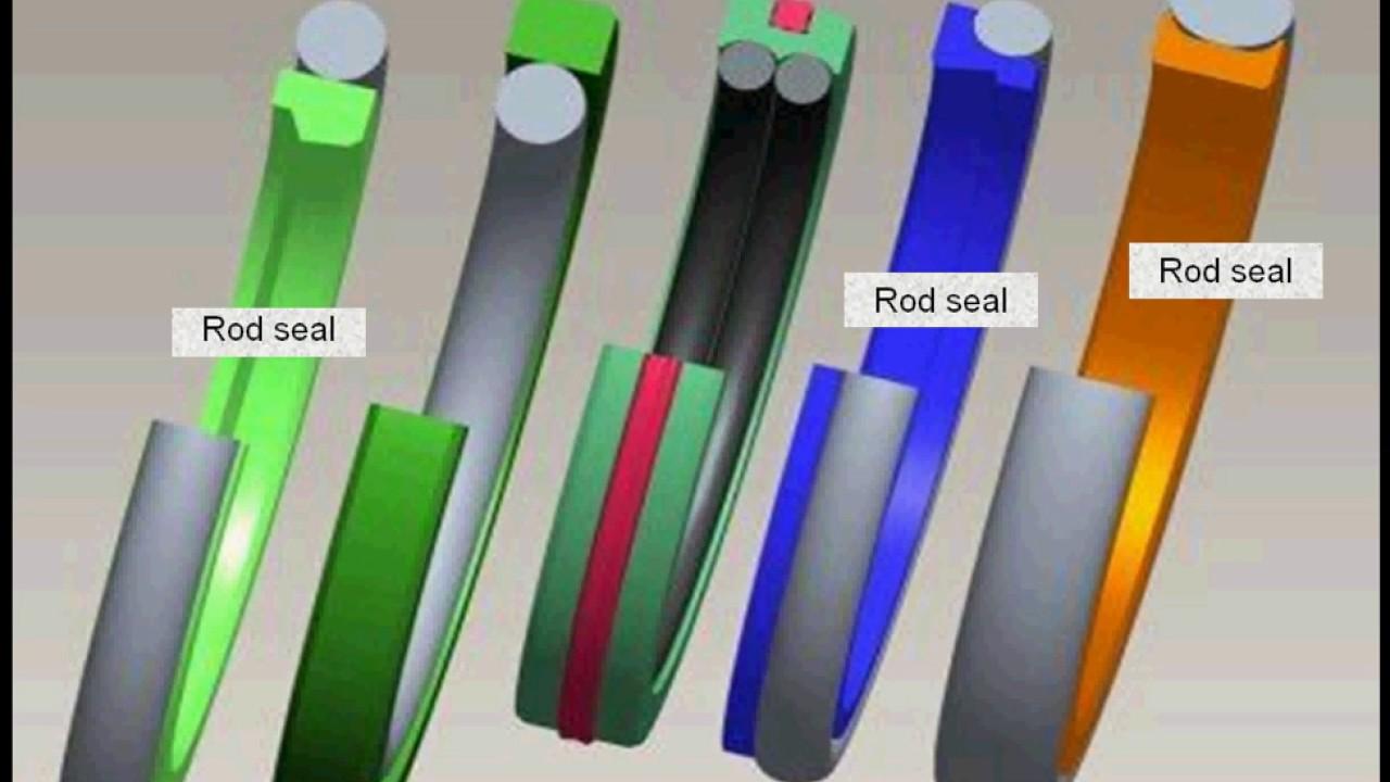 Types Of Piston Seals : Seals types hydraulic rod seal and piston