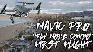 DJI Mavic Pro Fly More Combo First Flight - 4k
