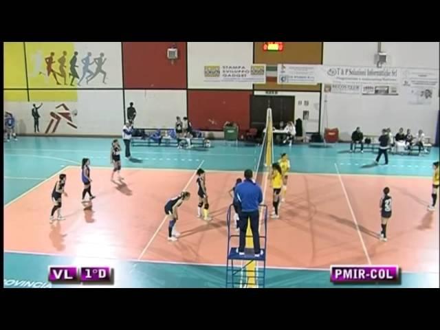 Poggio Mirteto vs Colonnetta - 1° Set