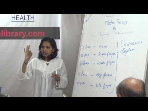 Mudra Therapy By Dr. Jayshree Yeshwante  HELP Talks Video