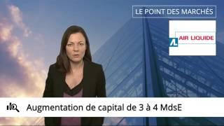 18/11/2015 : Ouverture : acquisition majeure pour Air Liquide