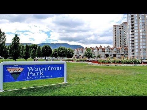 Kelowna Views - The Waterfront Park