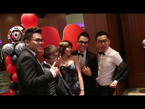 Casino Royale Themed Annual Dinner |  Aloft Kuala Lumpur Sentral