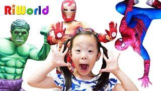Superheroes story by Alice 앨리스와 아빠의 슈퍼히어로 이야기