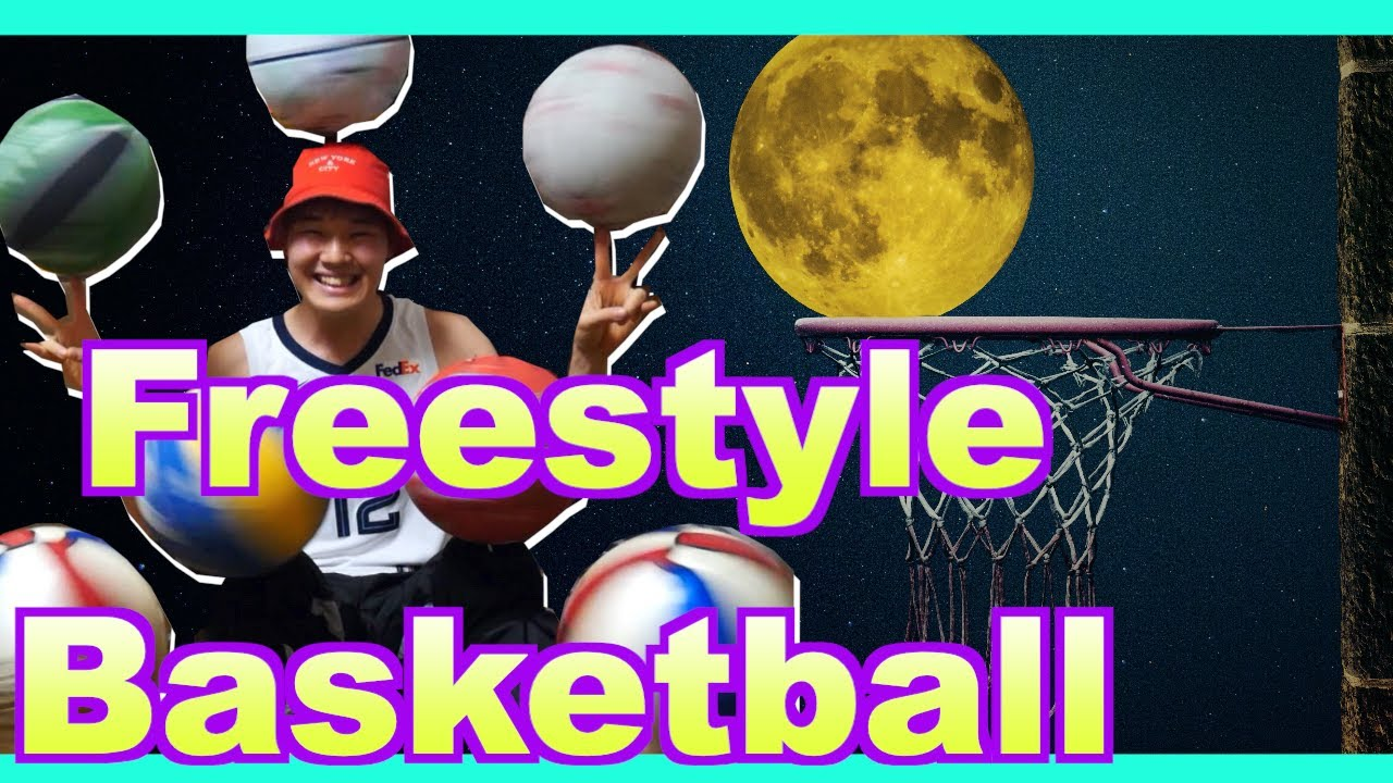 Freestyle Basketball by パフォキング〜バスケットボールを1度に5個使います!