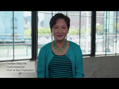 Port Commissioner Doreen Woo Ho talks Embarcadero Seawall