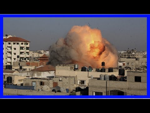 World News - Jerusalem: israel shooting retaliation airstrike in gaza-daily post nigeria