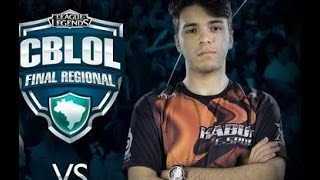 [CBLOL] Final Regional em SP - Kills do Minerva