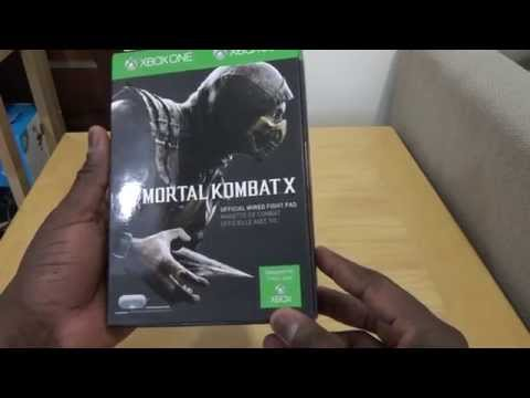 Mortal Kombat X Fight Pad Controller Unboxing