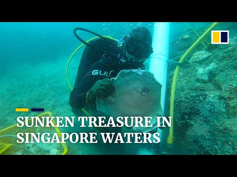 Divers finish work to recover centuries-old treasure from shipwrecks in Singapore waters