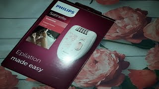 ЭПИЛЯТОР PHILIPS SATINELLIE HP 6420/00 видеообзор!