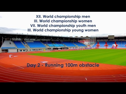 WORLD CHAMPIONSHIP OF THE FIRESPORT - DAY 2 RUNNING 100m OBSTACLE