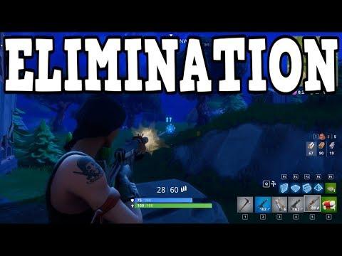 Elimination - Fortnite Battle Royale - Ep.14