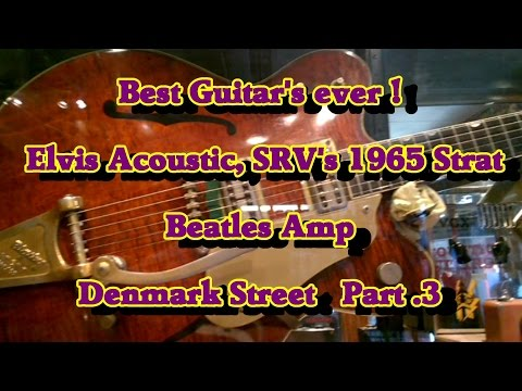 Best S/h Guitar's you'll ever see....Soho's Denmark St. Part 3