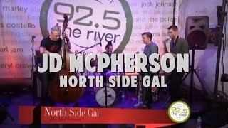 JD McPherson performs