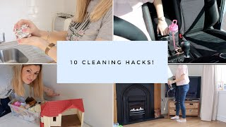 10 Cleaning Hacks UK Stay at home mum tips
