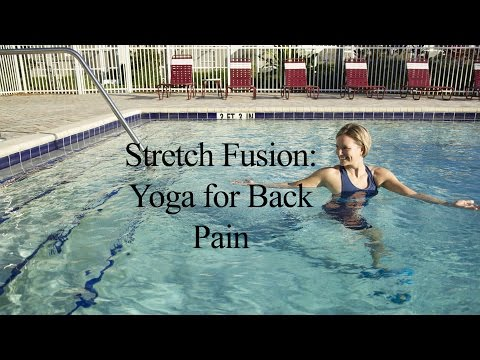 Aqua Yoga for Back Pain STRETCH FUSION#1 - WECOACH