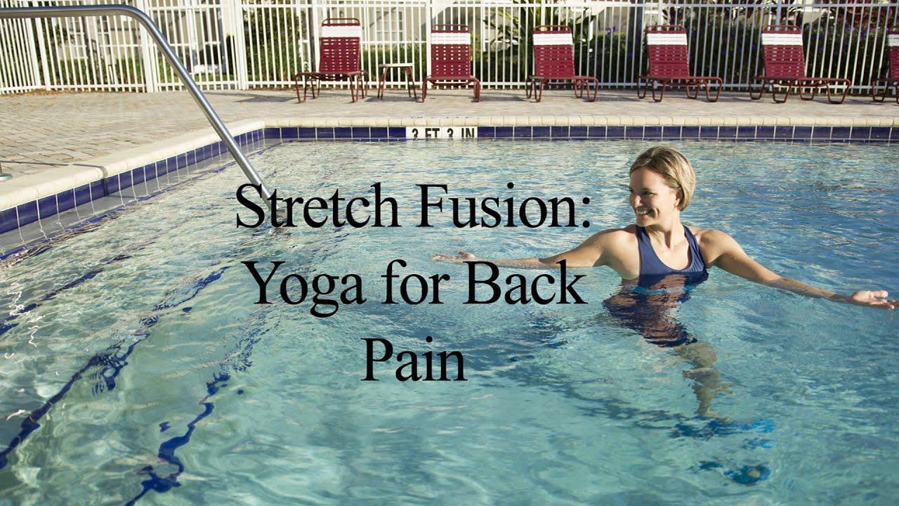 Aqua Yoga for Back Pain STRETCH FUSION#40 - WECOACH