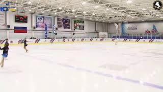Открытые юношеские соревнования по фигурному катанию на коньках «Пасха 2019», 29 апреля, День 2