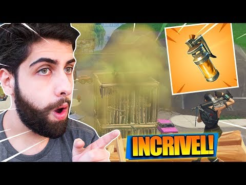 MATEI COM A *NOVA* GRANADA FEDORENTA! Fortnite: Battle Royale