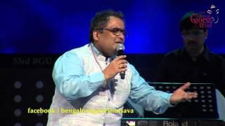 """""""Neene Neene"""" song by Kunal Ganjawala performing live @ 53rd Bengaluru Ganesh Utsava..!!!"""