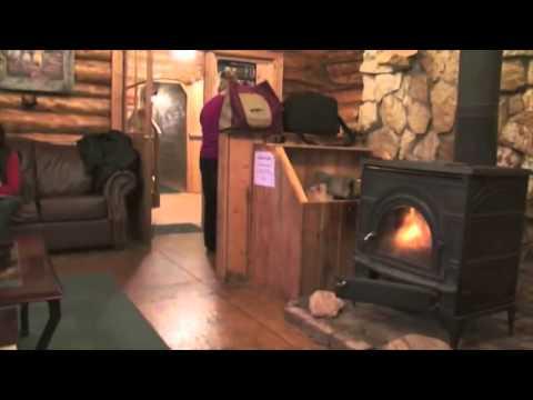 Lazy Bear Lodge Churchill Manitoba Canada Video4