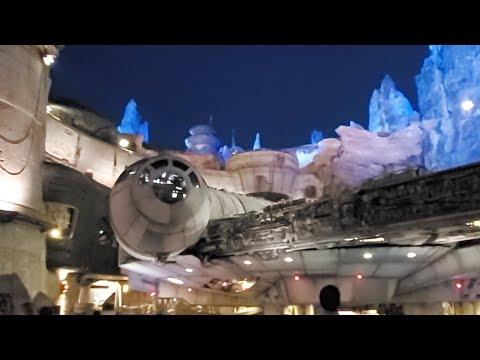 Star Wars Land Hollywood Studios Walk Through 4k