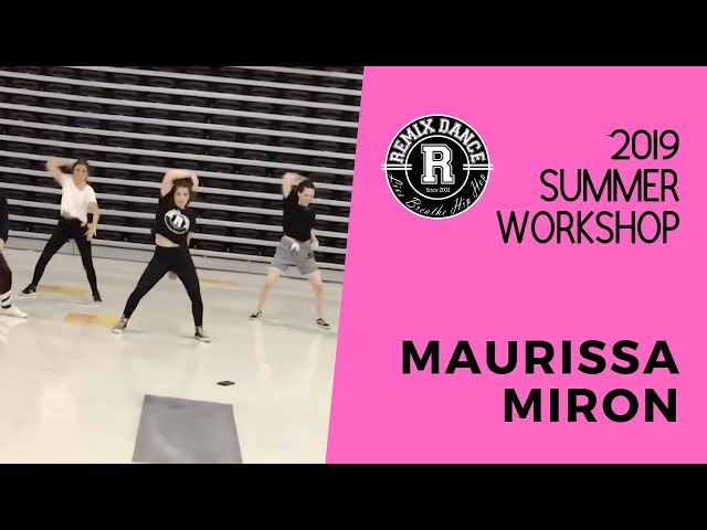 Summer Workshop 2019 - Maurissa Miron