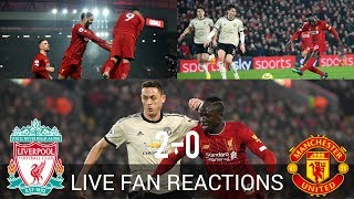 Liverpool FC 2-0 Manchester United, Sunday January 19th 2020, LIVE Fan Reactions