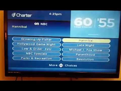 Select Charter On Demand or HD Channel