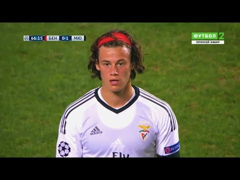 Mile Svilar vs Manchester United (Home) | CL Debut | 18/10/2017 | HD