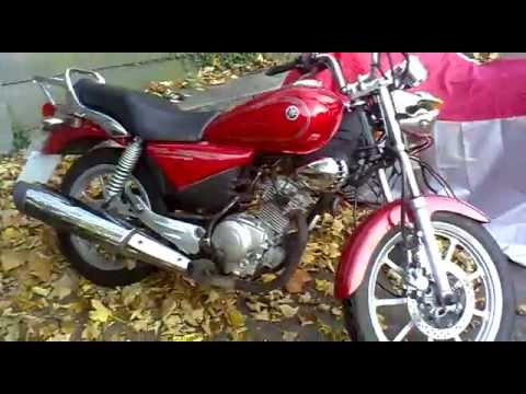yamaha ybr 125 custom youtube. Black Bedroom Furniture Sets. Home Design Ideas