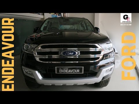 2018 Ford Endeavour Trend 4X2 AT | base model | detailed review | price | features | specs !!!!