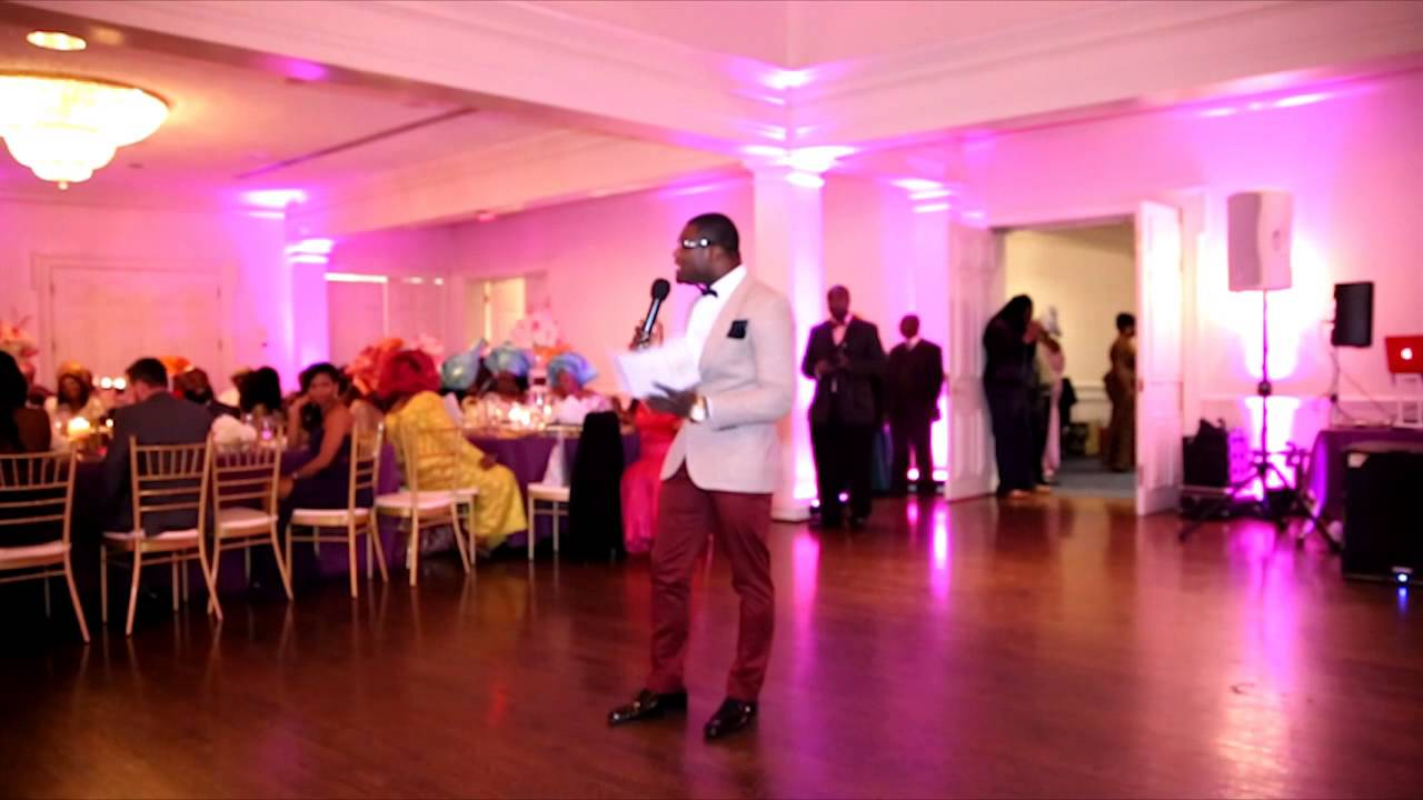 Mc Kofi Williams Wedding Reception African Pastor Joke Youtube