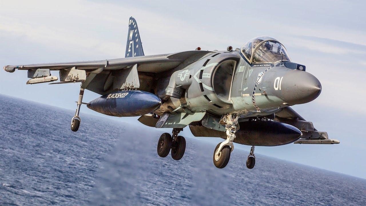 Why The AV-8B Harrier II Is Such A Badass Plane ?