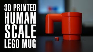 3D Printed Human Scale LEGO Mug