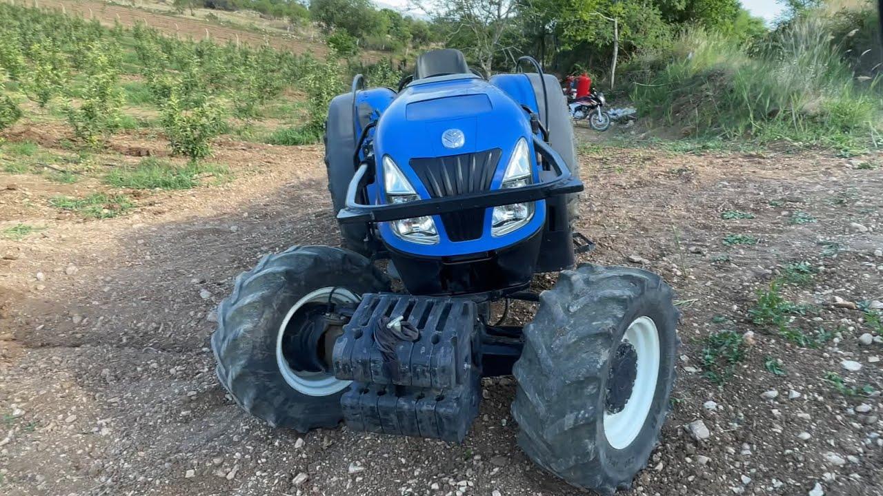 ülkemize gelmiş en sorunsuz bahçe traktörü new holland t4040f