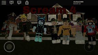 Scream 4 (Roblox Horror Story)