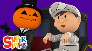 Jack's Creepy Carriage Gets Spookling Clean | Carl's Car Wash | Halloween Special