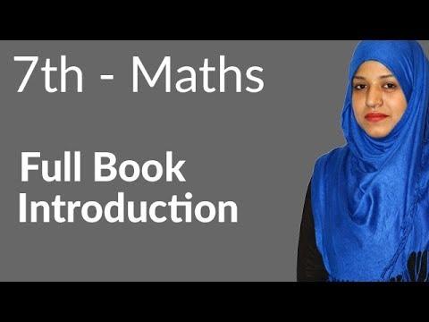 7th Class Math, 7th Class Maths Full Book Introduction- 7th Class Maths  Punjab Text Book