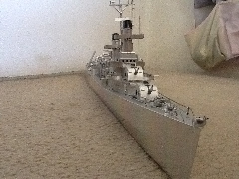 My model Fletcher-class destroyer