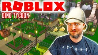 DINO-LAND! - Roblox Dino Tycoon Dansk Ep 1