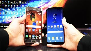 Samsung Galaxy S8 Plus VS Huawei Mate 9 Pro - Speed Test