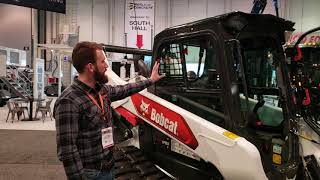 Video still for Bobcat's T76 at World of Concrete 2020